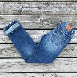 Lucky Brand Sienna Tomboy Boyfriend Crop Jeans